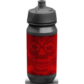 rie:sel design bot:tle Drink Bottle 500ml grey/red